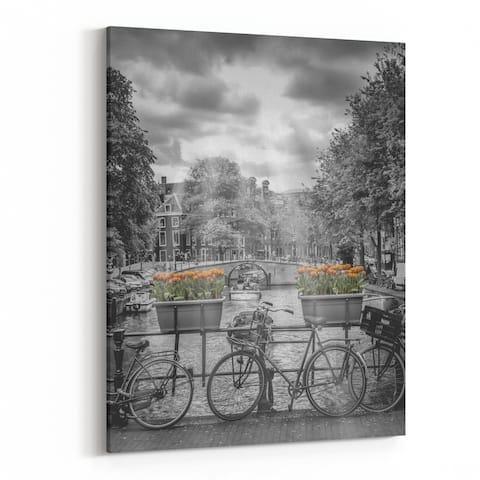 Amsterdam Netherlands Attraction Canvas Wall Art Print