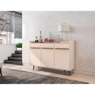 Link to Bradley 53.54 Buffet Stand with 4 Shelves by Manhattan Comfort Similar Items in Dining Room & Bar Furniture