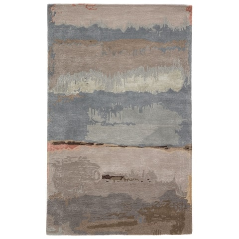 Carbon Loft Gorta Handmade Abstract Area Rug