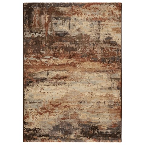 Carbon Loft Abarta Abstract Area Rug