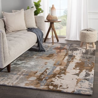 Link to Carbon Loft Tuatha Handmade Abstract Area Rug - Multicolor/Red (As Is Item) Similar Items in As Is