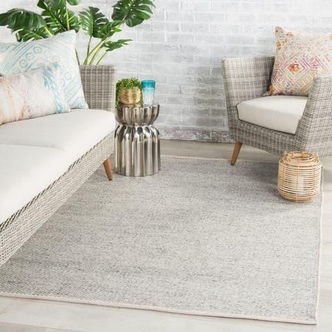Kuisna Indoor/ Outdoor Solid PET Yarn Area Rug by Havenside Home