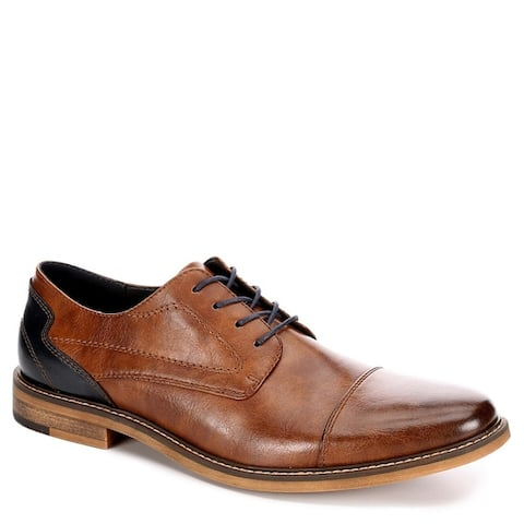 Restoration Mens 'Lowry' Cap Toe Oxfords