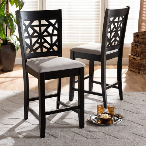 Copper Grove Ainaro Armless Cushioned Dining Chairs (Set of 2)