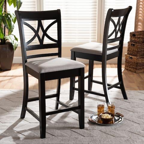 Copper Grove Aileur 2-piece Counter-height Pub Chair Set