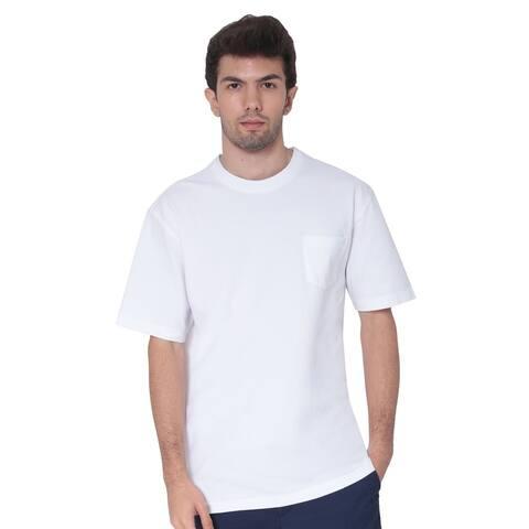 AVA Athletica Men's Cotton Classic Fit Round NeckSoft T-Shirt