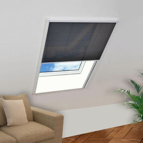 """Plisse Insect Screen Window 63""""x43.3"""" - 7'6"""" x 9'6"""""""