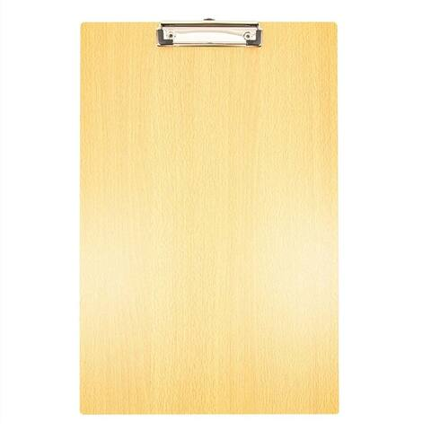 4x Large Wooden Clipboard with Hook for Students Engineers Architects