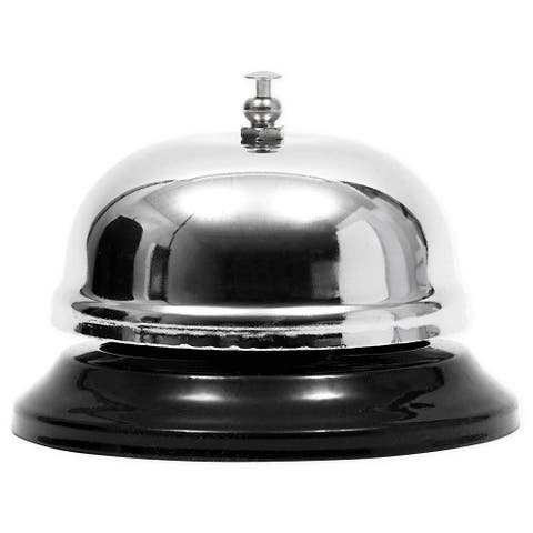 4x Anti-Rust Call Bell for Elderly Patients Customer Service Reception 3.8""