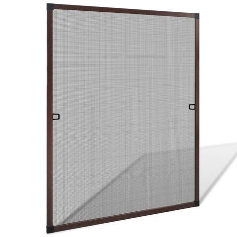 """Brown Insect Screen for Windows 31.5""""x39.4"""" - 7'6"""" x 9'6"""""""
