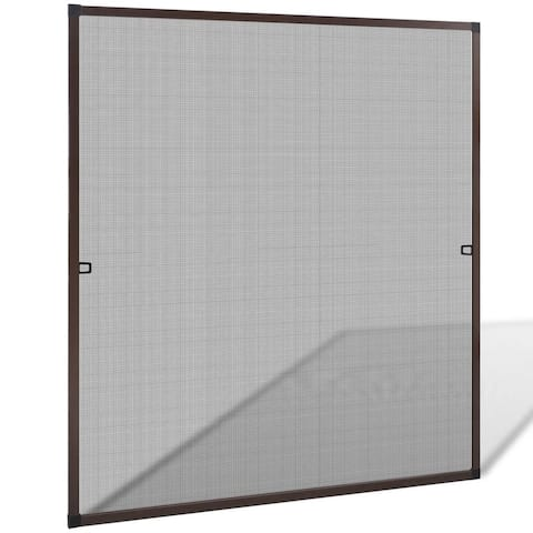"""Brown Insect Screen for Windows 47.2""""x55.1"""" - 7'6"""" x 9'6"""""""