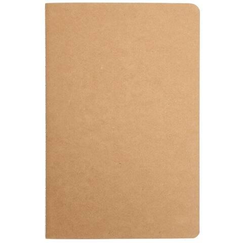 """24Pack Blank Kraft Travel Journal Notebook Notepads Notebooks No Lines, 8.3x5.5"""""""