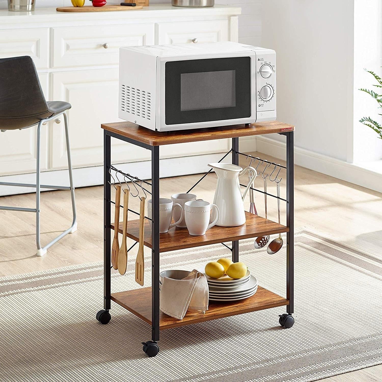 Kitchen Design Layout Appliance Rack For Kitchen