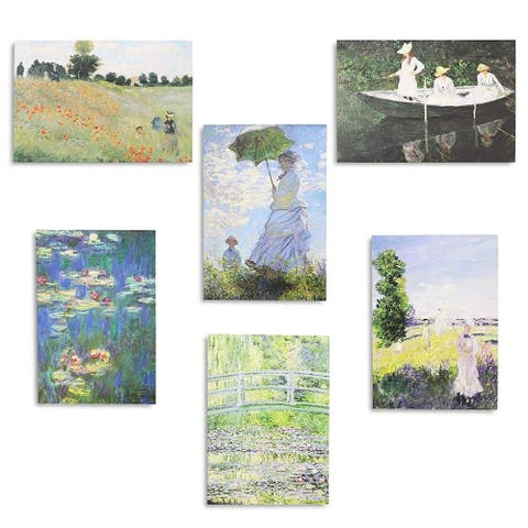36x Assorted Monet Painting All Occasion Greeting Cards w/ Envelopes