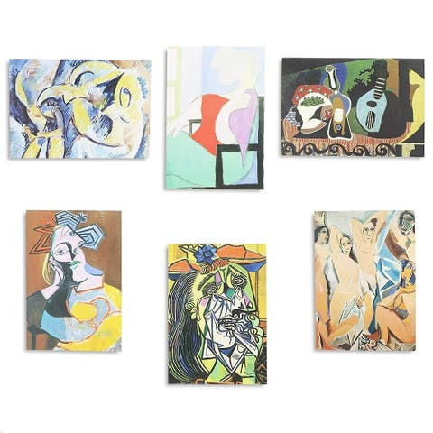 36x Assorted Picasso Painting All Occasion Greeting Cards w/ Envelopes