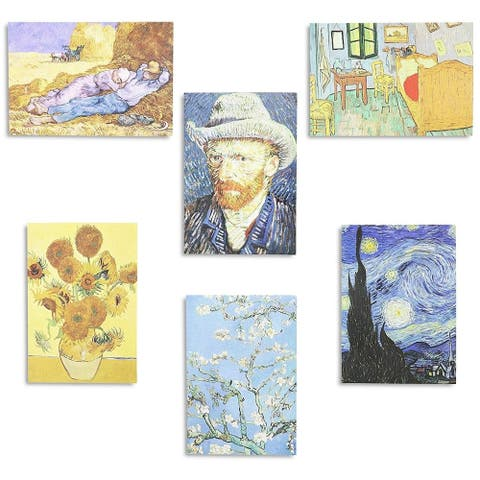36x Assorted Van Gogh Painting All Occasion Greeting Cards w/ Envelopes