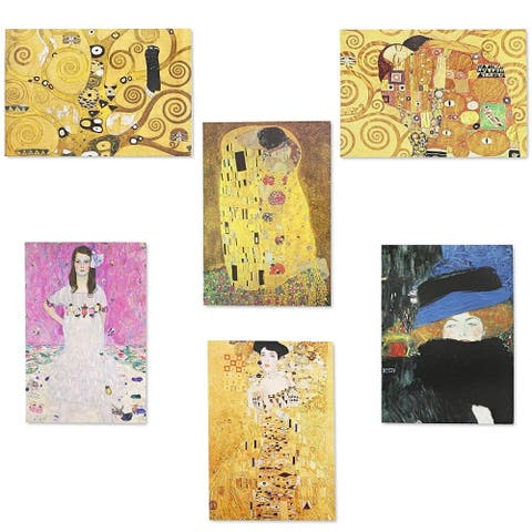 36x Assorted Gustav Klimt Painting All Occasion Greeting Cards w/ Envelopes