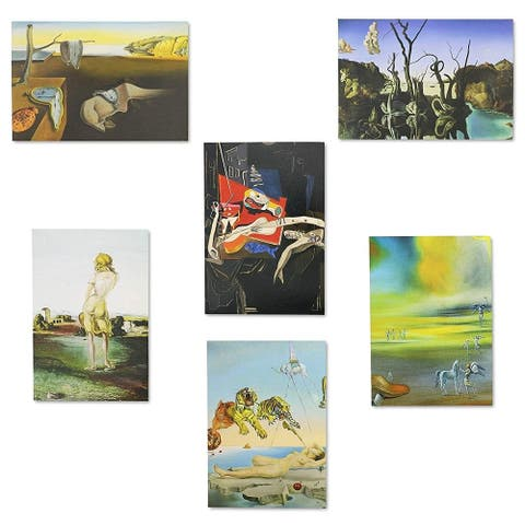 36x Assorted Salvador Dali Painting All Occasion Greeting Cards w/ Envelopes