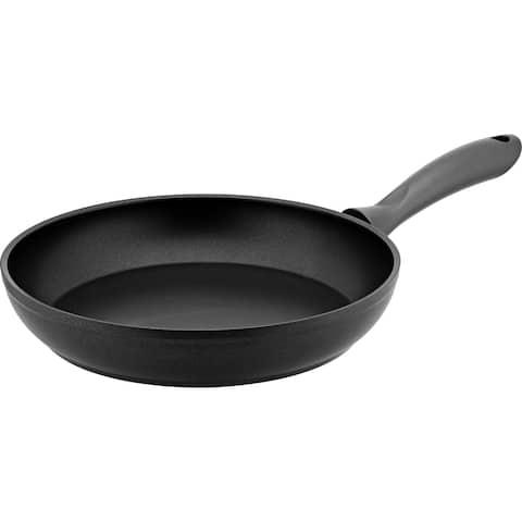 Hascevher Non Stick Aluminum Induction Compatible Frying Pan, Black