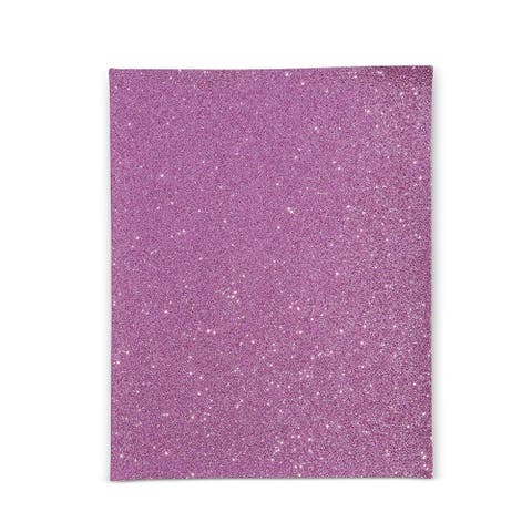 24x Glitter Fabric Sheets, Faux PU Leather for DIY Crafts, 24 Colors 8 x 11.5 in