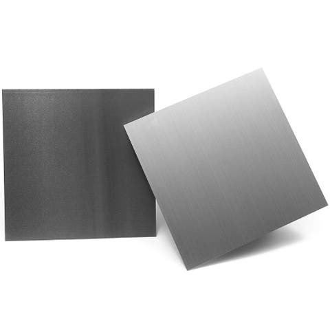 2 Pack Aluminum Sheet Tooling Flat Plate, 12 x 12 inches, 1mm Thickness, for Building, Repair and Construction Projects