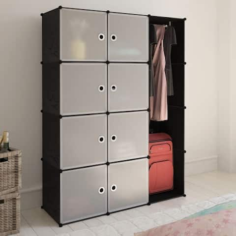 "Modular Cabinet with 9 Compartments 1' 3""x3' 9""x4' 11"""