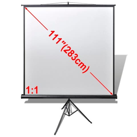 Manual Projection Screen - Silve - Media