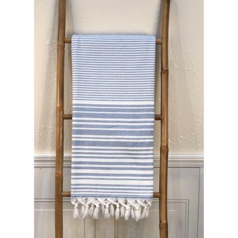 """Samos Cotton Throw Blanket 36"""" x 67"""""""