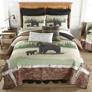 Link to Donna Sharp Birch Bear Cabin/Lodge Quilt Set Similar Items in Quilts & Coverlets