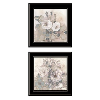 """Link to """"Transitional Blooms"""" By Stellar Design Studio, Ready to Hang Framed Print, Black Frame Similar Items in Art Prints"""