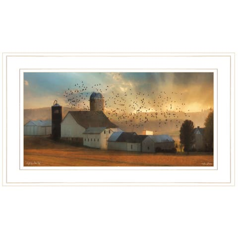 """""""Light of a New Day"""" By Lori Deiter, Ready to Hang Framed Print, White Frame"""