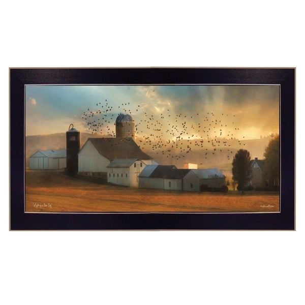 """""""Light of a New Day"""" By Lori Deiter, Ready to Hang Framed Print, Black Frame. Opens flyout."""