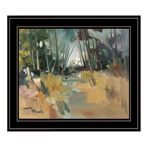 """""""A New Day"""" By Jose Trujillo, Ready to Hang Framed Print, Black Frame"""