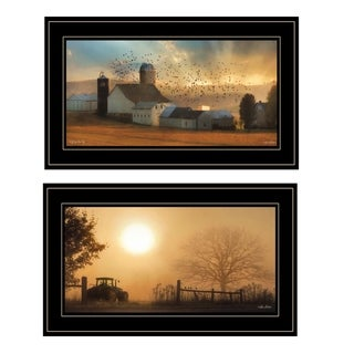 """""""Light of a New Day Collection"""" By Lori Deiter, Ready to Hang Framed Print, Black Frame"""