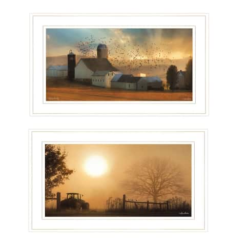 """""""Light of a New Day Collection"""" By Lori Deiter,, Ready to Hang Framed Print, White Frame"""