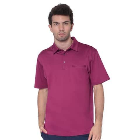 AVA Athletica Men's Classic Polo Quick-Dry Golf, Tennis, T-Shirt