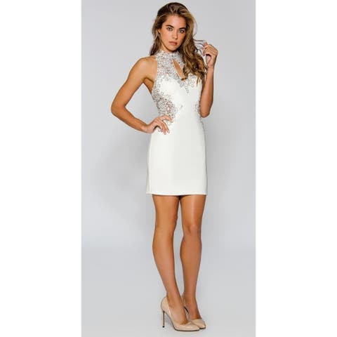 Stella Couture Cocktail Party Mini Dress