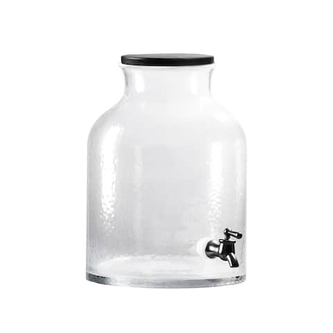 ELLE Toscana Glass Beverage Dispenser - 2.79 Gallon