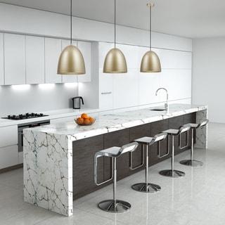 Link to Irvine 1-Light Black Pendant Light, White Interior, LED Bulb Included Similar Items in Pendant Lights