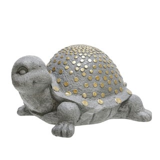 "Link to Polyresin 14"" Turtle W/Gold Dots, Gray Similar Items in Accent Pieces"