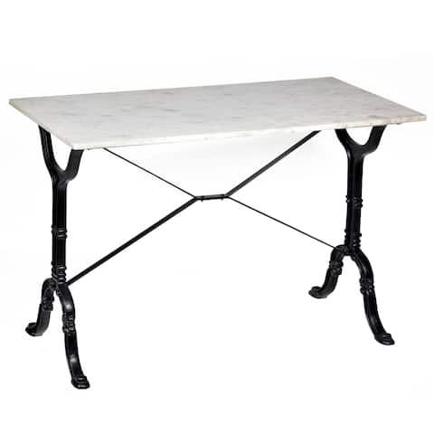 Adah Marble Top Bar Table