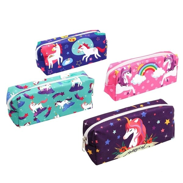4 Set Packing Cubes Travel Luggage Packing Organizers Whale And Unicorn