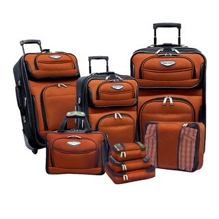 Travel Select by Traveler's Choice Amsterdam II 8-piece Deluxe Packing Luggage Set (4 options available)