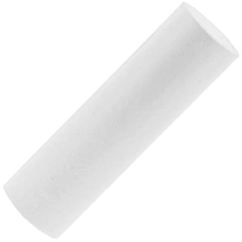 8x Foam Cylinder Styrofoam for DIY Crafts Art Modeling, White, 1.8 x 6 Inches - White