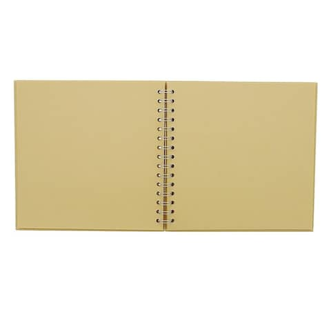 "40 Sheets 8"" Blank Hardcover Kraft Scrapbook Photo Album DIY Crafts Anniversary"