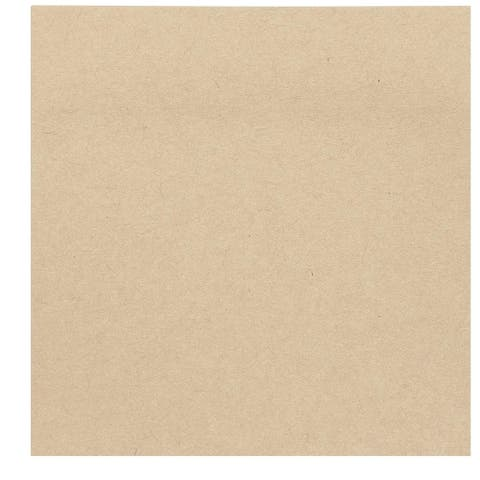 """6 Pack Kraft Paper Light Brown Sticky Notes 3"""" x 3"""" for School Office Home Reminder Memos"""