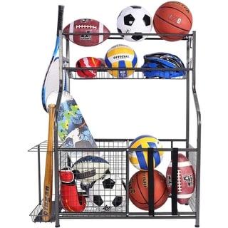 Link to Sports Equipment Garage Organizer Sport Balls Storage  Rack  Organizer Similar Items in Golf Gear