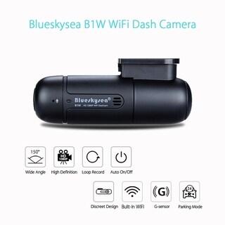 B1W Mini WiFi Dashcam Full HD 1080P resolution