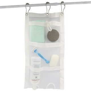 Link to Evelots Shower Caddy-Organizer-Mesh-Easy Bottle Squeeze-5 Pockets-Soap-Shampoo - Set of 1 Similar Items in Shower & Bath Caddies
