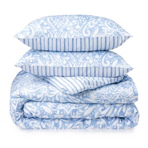 Martha Stewart Avery Medallion 3 Piece Comforter Set